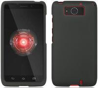 Black Rubberized Hard Case Cover For Verizon Motorola Droid Maxx / Ultra Xt1080 on sale