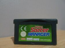 Total Soccer Manager...Game Boy Advance...Free Post AU