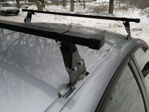 Roof Rack Cross Bars PO 120cm Chevrolet Seat Skoda Vauxhall VW