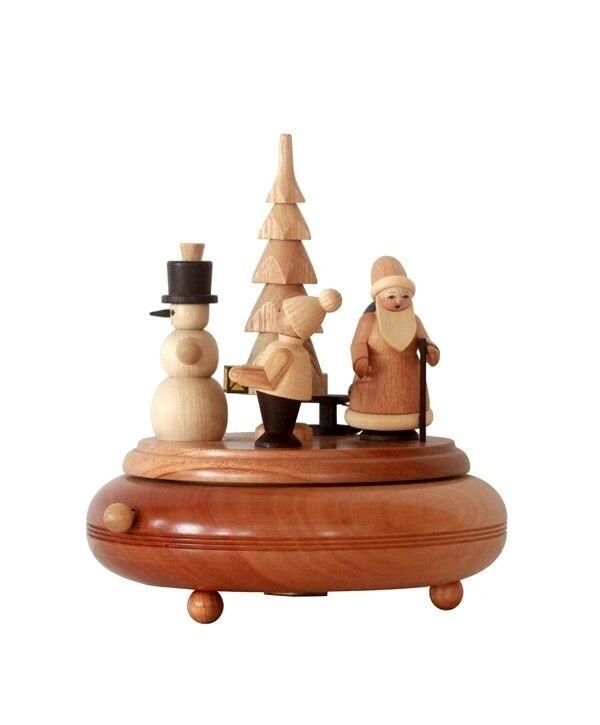 Boîte à musique Noël 18 cm Boîte à musique Monts Les Monts musique Métallifères Neuf Seiffen les Monts Métallifères Nature 19d6a4