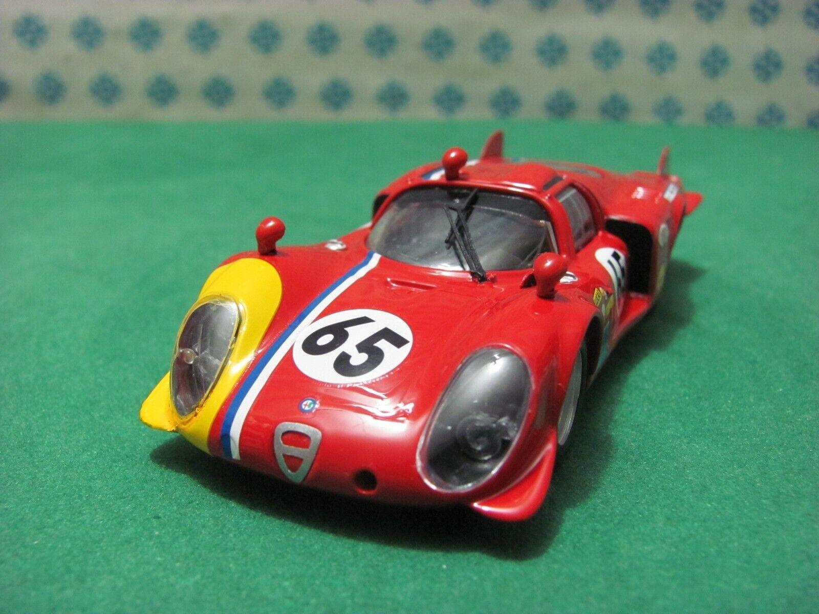 ALFA ROMEO 33 2 LM Coupe 2000. Schwanz Lang   Le Mans 1968   - 1 43 Best 9293