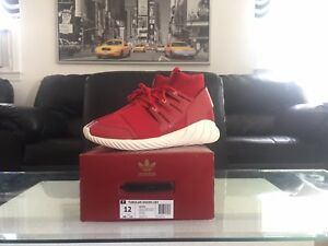 6f3c65072cf99 Adidas Tubular Doom Chinese New Year CNY Red Gold Originals New Size ...