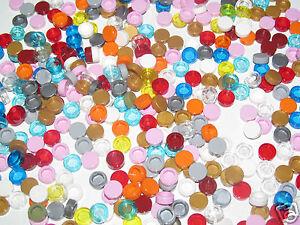 Lego-Lot-x5-Plaque-Ronde-Lisse-1x1-Flate-Tile-Round-Choose-Color-ref-98138