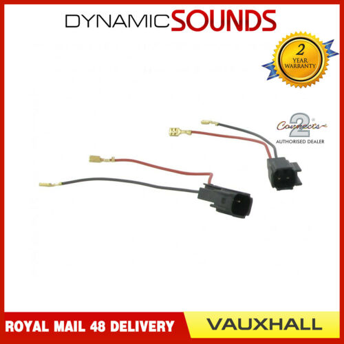 CT55-VX02 Car Speaker Adapter Harness Connectors for Vauxhall Astra Insignia