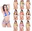 thumbnail 2 - Sexy Micro Bikini Shiny Women Brazilian G-String Set Thong Swimwear Swimsuit