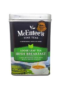 McEntee's IRISH Loose Breakfast Tea 500g TIN–AWARD WINNING & BLENDED IN IRELAND