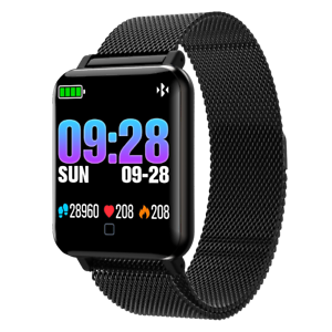OLED-Bluetooth-Smart-Watch-Magnetverschluss-Pulsuhr-Armband-Fitness-Uhr-Sport
