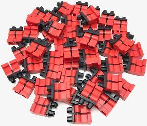 Spare Parts Lego Plain Dark Brown Minifigure Hip And Legs X4