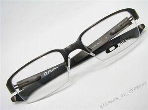 Eyeglass-Frames-Oakley-BOOMSTAND-OX5042-0352-Pewter-52mm-Titanium-Glasses-Frame
