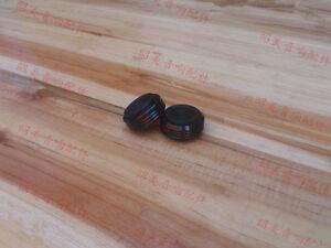 4pcs 30 *13mm audio AMP speaker feet Screw thread spikes PC machine mats pads