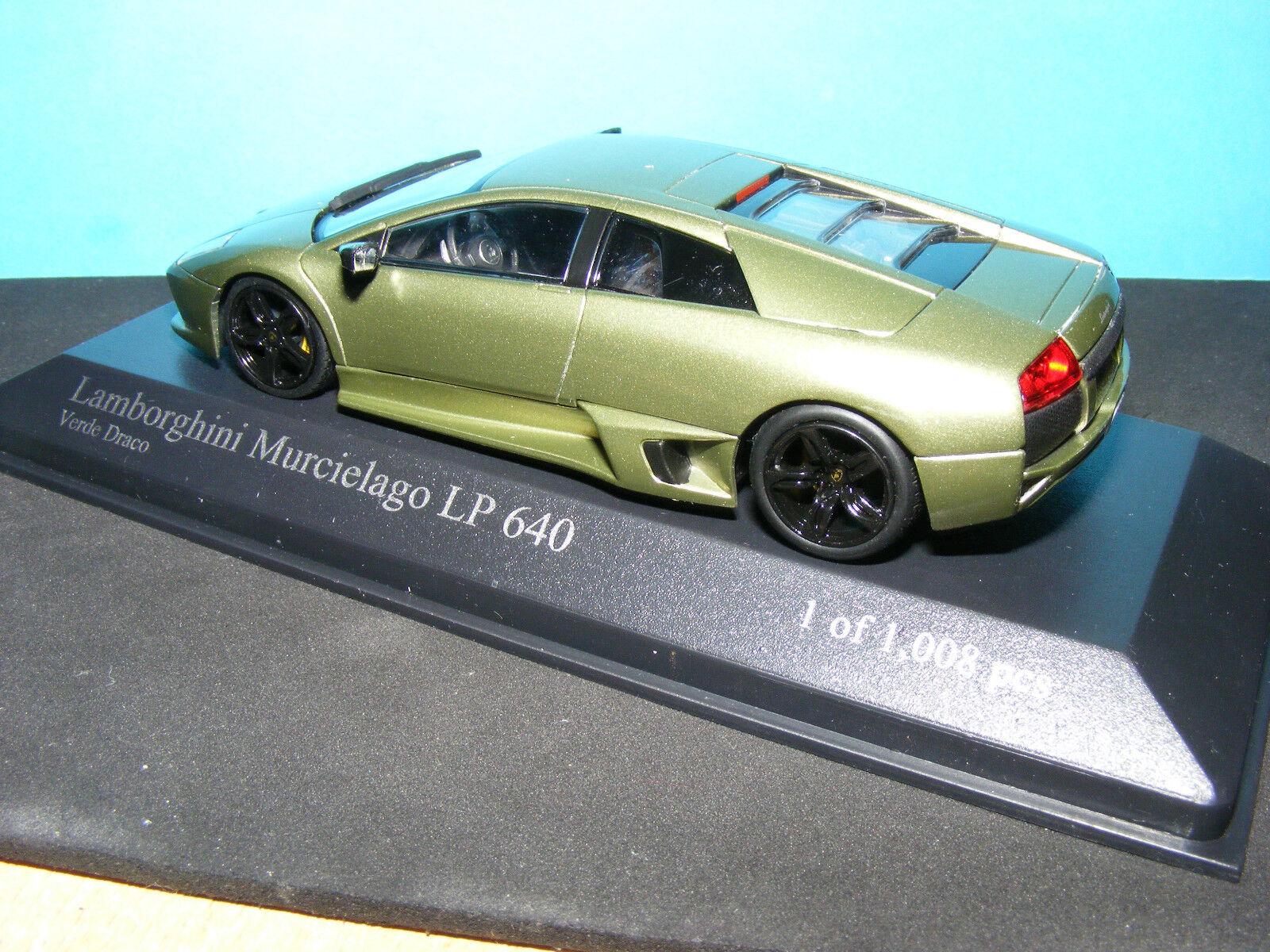 LAMBORGHINI MURCIELAGO LP-640 1 43 NLA Rare Minichamps 1 43RD sCALE