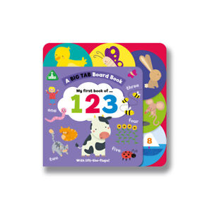 Early Learning Centre Big Tab World Book: 123