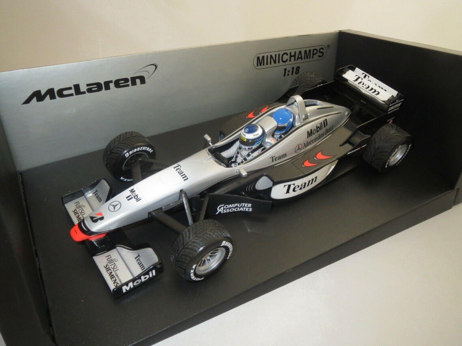 Minichamps Formule 1 McLaren Mercedes mp4-98t (m&e Hakkinen)  2000  1 18 (s5)