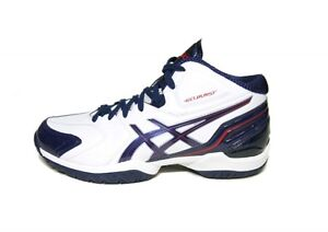 Shoes 5 Burst White Gel Asics Us7 Basketball Tbf307 Rs2 X Navy nvxW5Wc