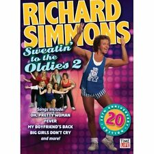 RICHARD SIMMONS SWEATIN TO THE OLDIES VOL 2 DVD NEW SEALED AEROBICS EXERCISE