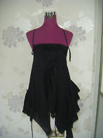 Stunning  All Saints  Nansea Top Black Size 10  Excellent condition