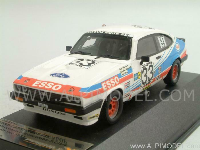 Ford Capri Mk3 3.0S 24h Spa 1981 Woodman - Buncombe - 1 43 PREMIUM X PR0011