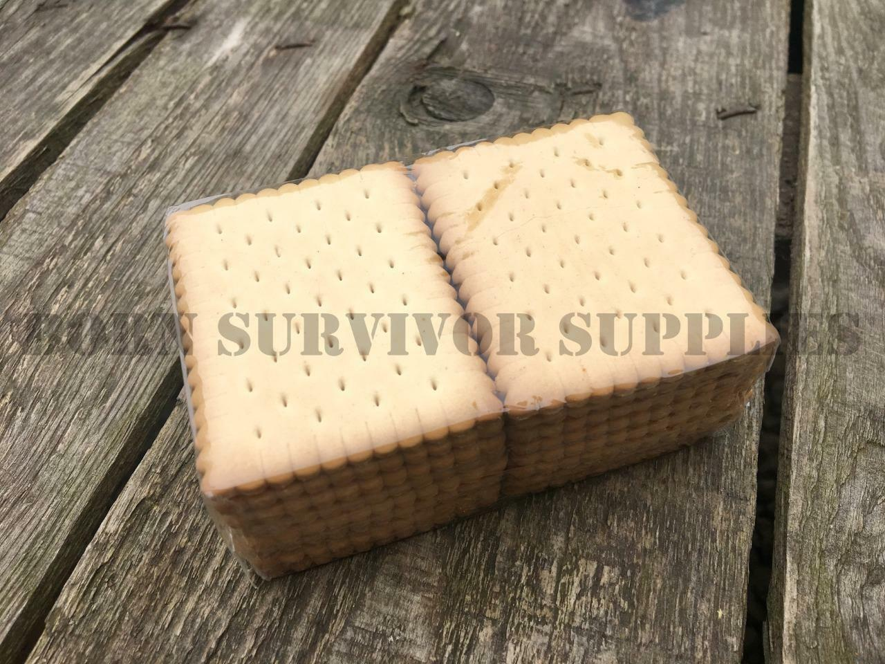 Survivor Outdoor biscuits 125 g-SOS Emergency Emergency Emergency Ration alimentaire kit de survie Snack e628ee