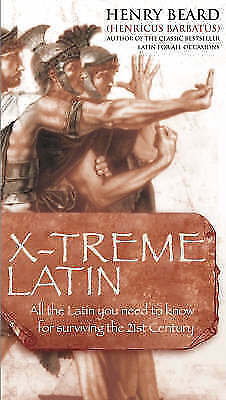 """AS NEW"" X-treme Latin, Beard, Henry, Book"