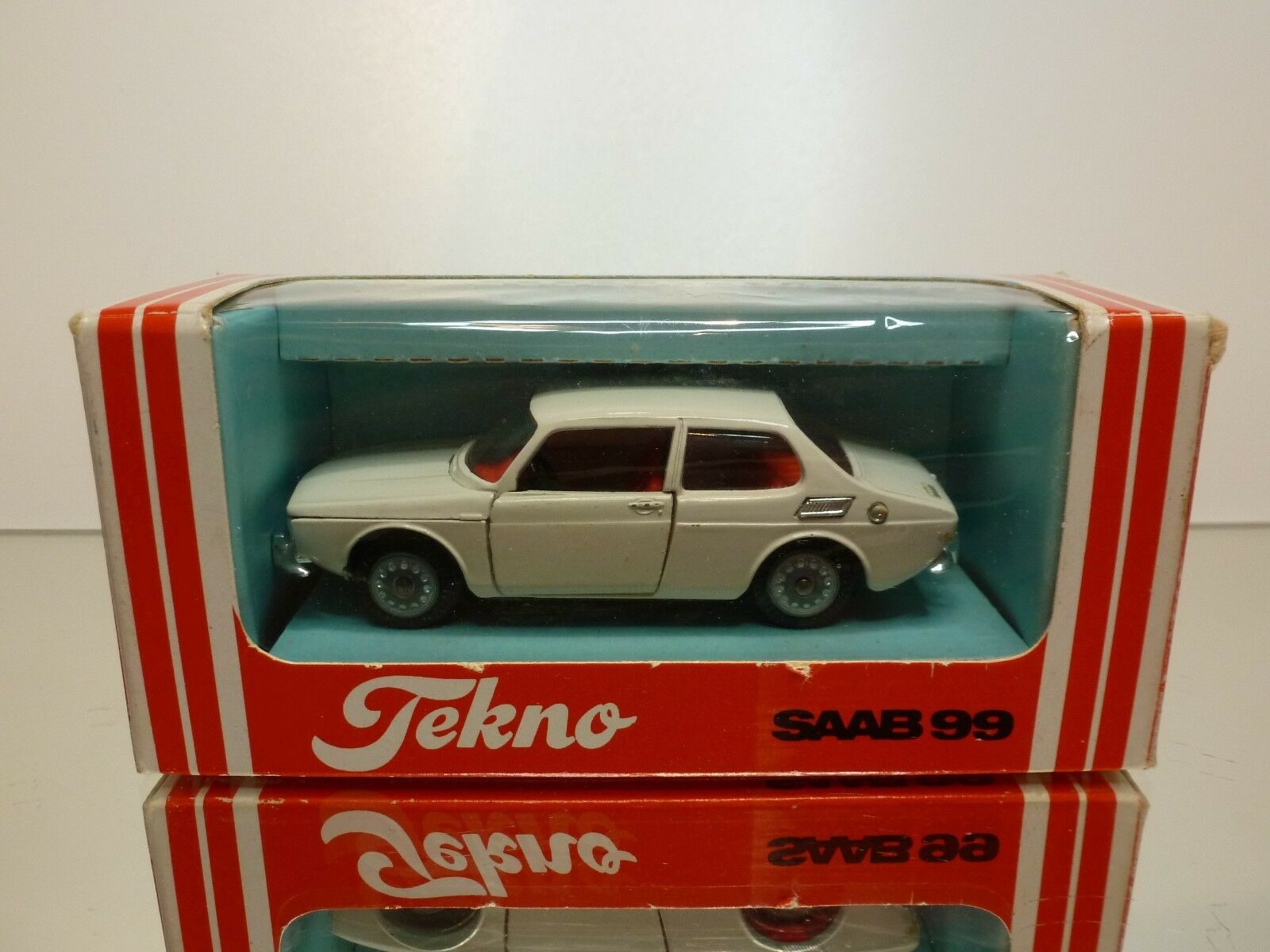 TEKNO DENMARK 837 SAAB 99 - OFF blancoo 1 43 RARE - VERY GOOD CONDITION IN BOX