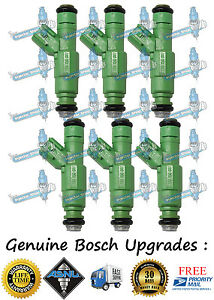 Reman-Upgrade-Best-4-Hole-Bosch-6x-Fuel-Injectors-Dodge-Jeep-Mitsubishi-3-7L