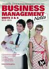 Business Management Notes VCE Units 3 and 4 by Debra McNaughton (Paperback, 2009)