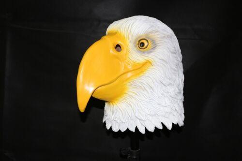 Latex Tiermaske Kostüm Halloween Zoo Dschungel Vogel Wald Safari Farm Wild