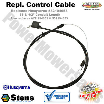 Zone Control Cable For Husqvarna AYP 532194653 158152 Stens 290-729