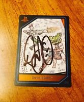 Playstation Experience 2015 Psx: Drawn To Death (signed By David Jaffe) 16 Card