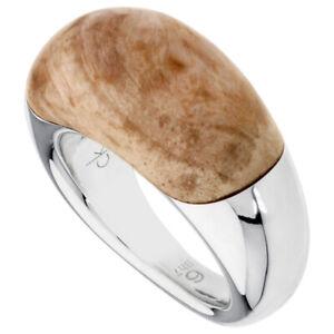 Calvin Klein Hyperbole Two Tone Size 6 Ring KJ24AR010606