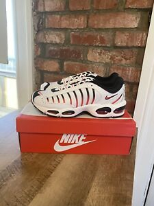 Nike-Air-Max-Tailwind-IV-4-Shoes-White-Black-Habanero-Red-AQ2567-104-Men-039-s-11-5