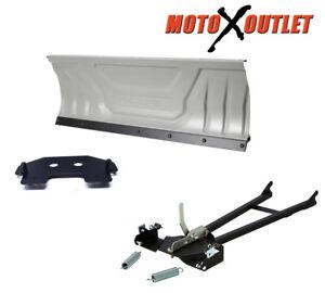 Honda-420-Rancher-Atv-Snow-Plow-Kit-Snowplow-60-034-Blade-Package-2007-2013