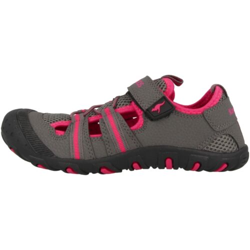 KangaROOS kangaspeed x4 Chaussures Pour Enfants Sandale Sneaker Grey Magenta 16073-261