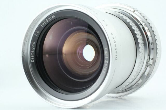 [Exc+++] Hasselblad Carl Zeiss Distagon C 50mm f/4 Silver From Japan