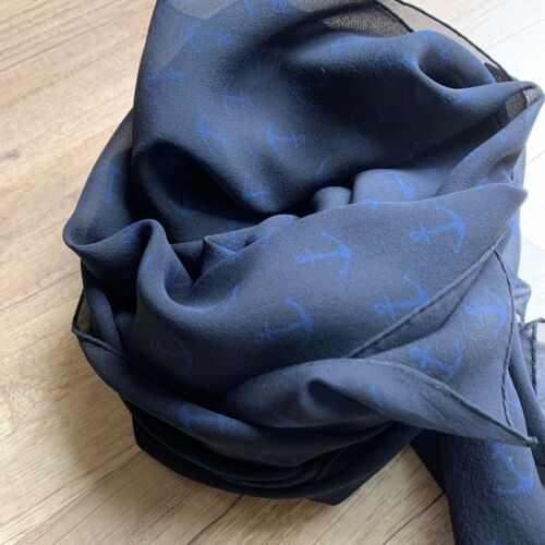 Fabric frontline big silk scarf