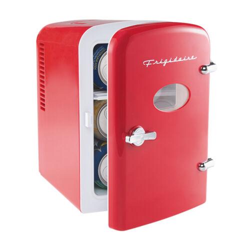 Frigidaire Portable Retro 6-can Mini Fridge EFMIS129 Red