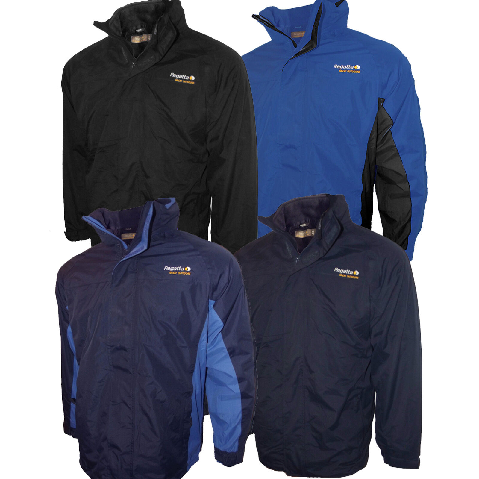Mens regatta jacket - Regatta Jacket 3 In 1 Mens Thor Iii Fleece Interactive Hydrafort Waterproof New