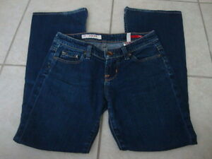 Womens-X2-EXPRESS-slim-W10-low-rise-flare-leg-stretch-jeans-0-short