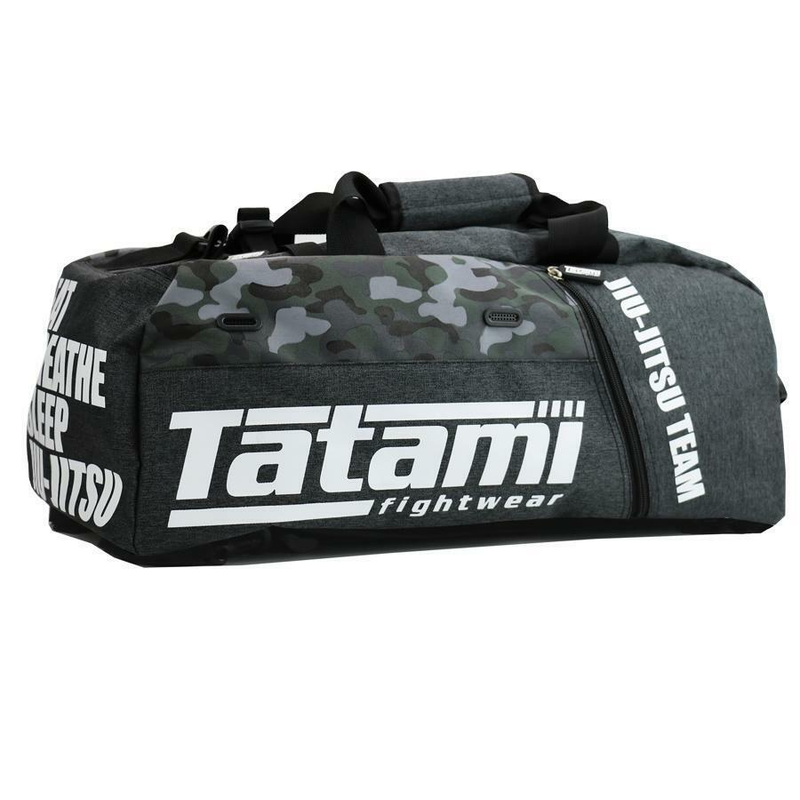 Tatami Tatami Tatami Sporttasche Jiu Jitsu Gear Bag grau Camo BJJ Kampfsport Trainingstasche 1e5ded