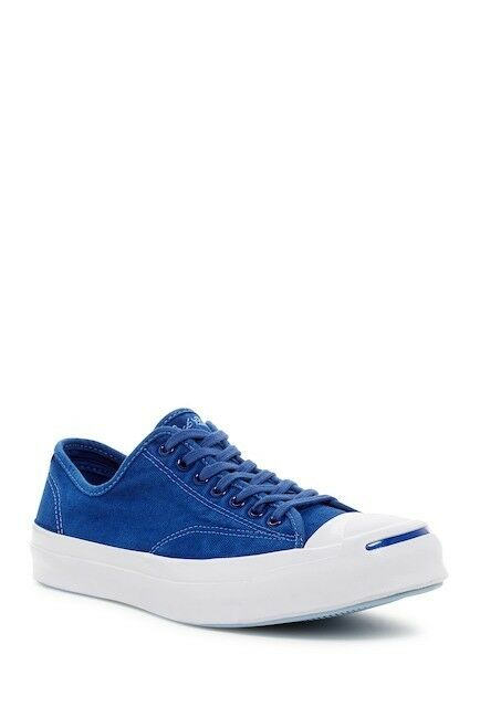 Scarpe casual da uomo Converse Jack Purcell Signature OX Blue Low Top Sneaker 151480C