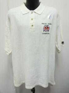Dallas Stars Nhl 1999 Stanley Cup Champions Xl Puma Polo Shirt Vintage Vtg Mens Ebay