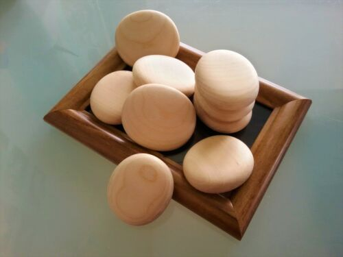 Medium Wooden Pebbles Natural Smooth Home Decoration Arts/&Crafts Wedding Favours