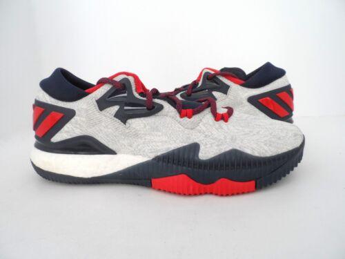 Chaussure Adidas Low Crazylight Boost Homme Blanc 2016 De Basketball shCxBtorQd