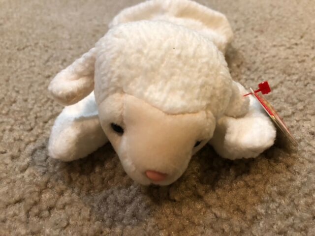 72f204a836a Ty Beanie Baby - Fleece The Lamb for sale online