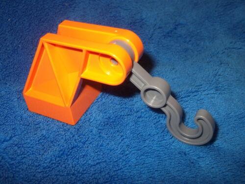 LEGO Duplo Crochet camion crochet de remorquage orange gris dissertation 10552 2222 6052 6146