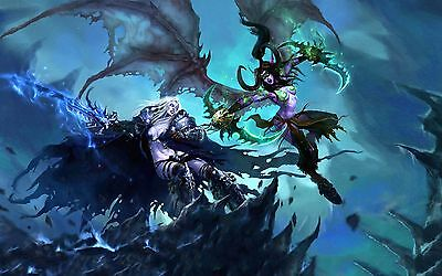 Poster A3 World Of Warcraft Videogame Videojuego Cartel Decor Impresion 02