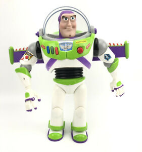 "Buzz Lightyear - Toy Story - Posable Action Talking Figure 12"" Disney Pixar  VTG"