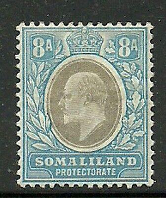 Herzhaft Album Schätze Somaliland Prot Scott # 47 8a Edward Vii Postfrisch Mit Scharnier Und Ein Langes Leben Haben. Europa