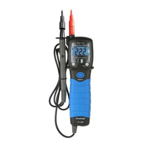 Hold Peak Handheld Backlight Pen Type Digital Multimeter DC//AC Voltage Meter UK