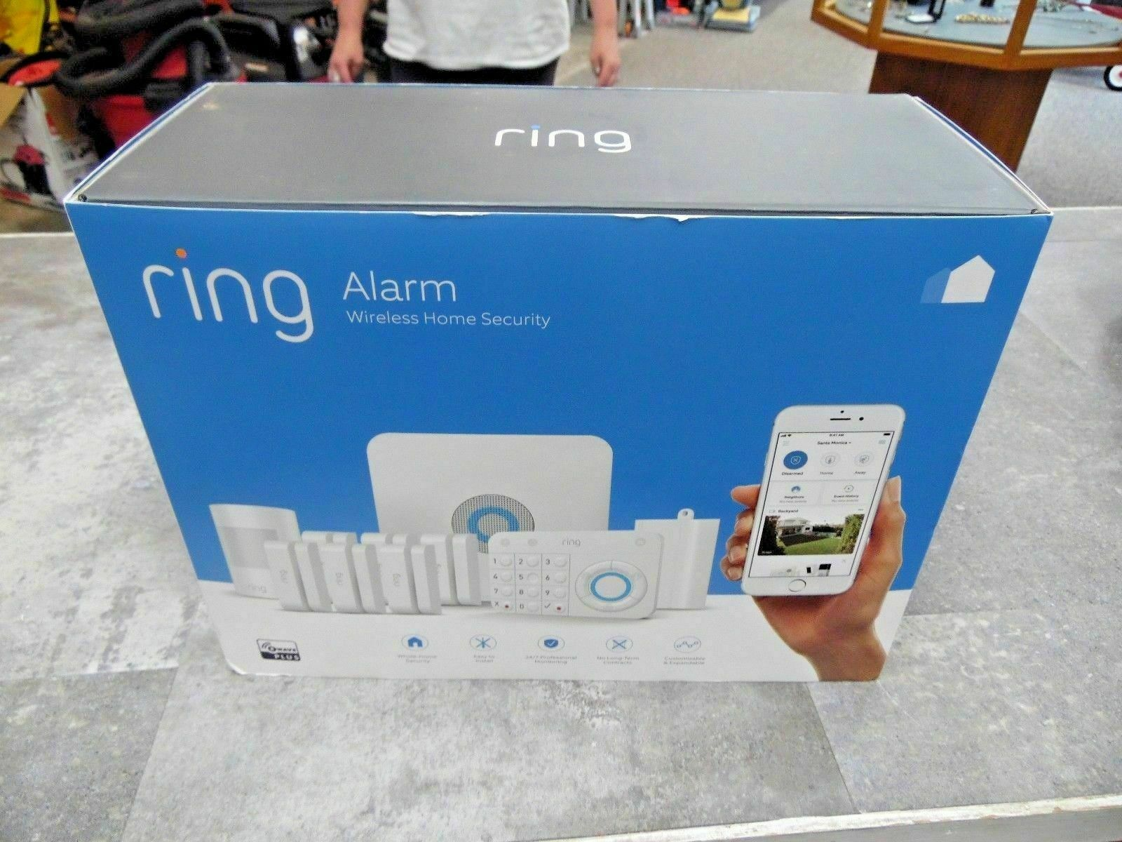 Ring Alarm Wireless Security Kit Home System - 10 Piece. Buy it now for 198.99